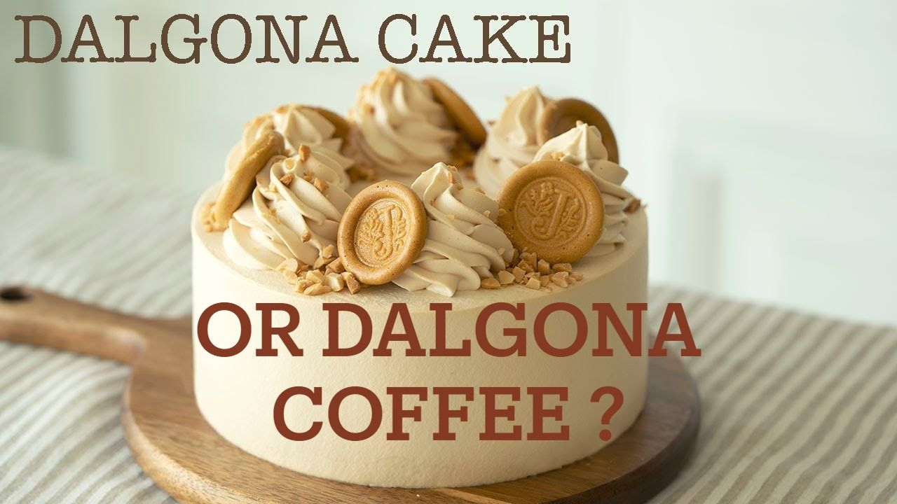 DIY DALGONA COFFEE CAKE in 2020 Dalgona coffee, Coffee