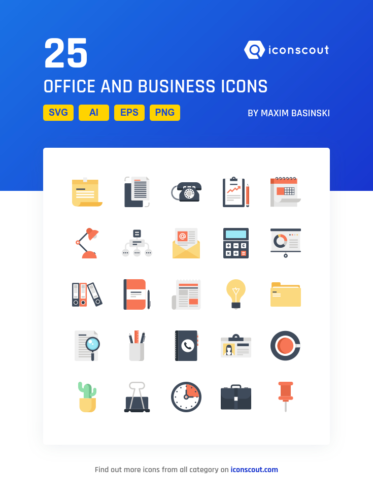 Download Download Office And Business Icon pack - Available in SVG ...