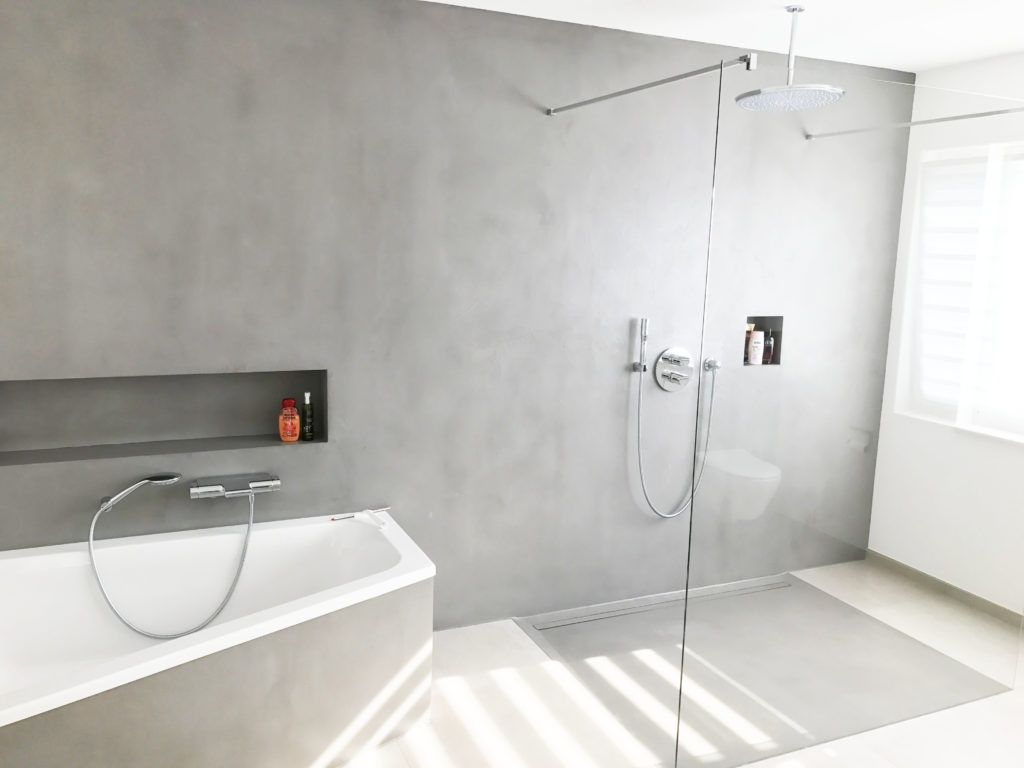 Fugenloses Bad Losungen Und Varianten Fur Ein Modernes Badezimmer Ohne Fugen Badratgeber Com In 2020 Fugenloses Bad Badezimmer Modernes Badezimmer