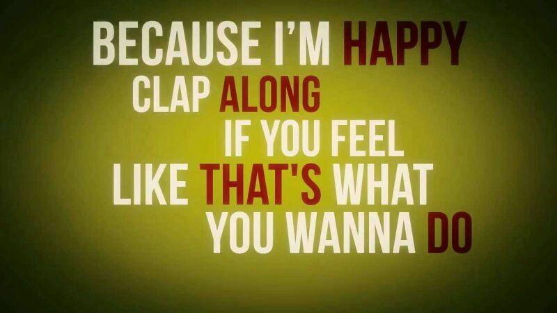 Because im happy   Happier lyrics, Pharrell williams