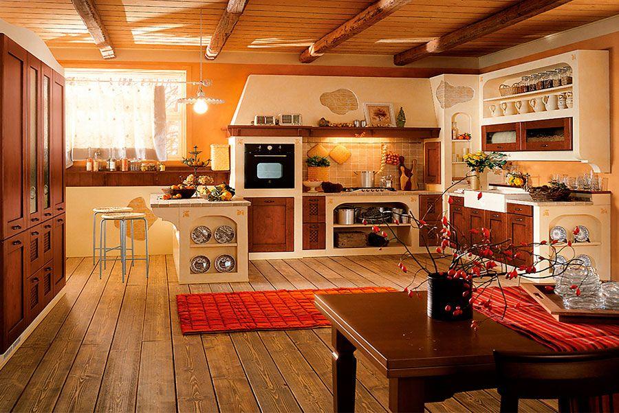 Cucina in muratura moderna n.19 | Cucine | Pinterest