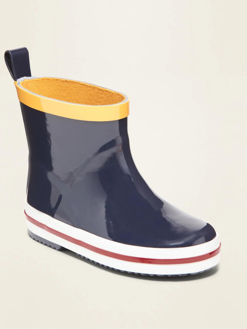 Short Rubber Rain Boots for Toddler
