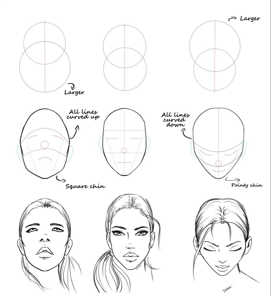 The Art Of Drawing Gorgeous Faces I Draw Fashion Academy Drawing Tutorial Face Face Drawing Drawing Tutorial