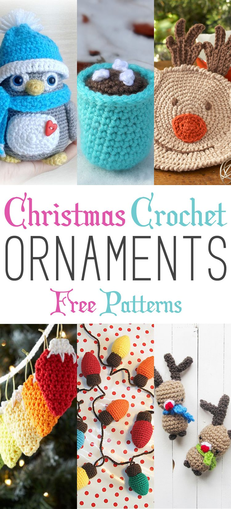 Christmas crochet ornaments with free patterns free pattern christmas crochet ornaments with free patterns bankloansurffo Image collections