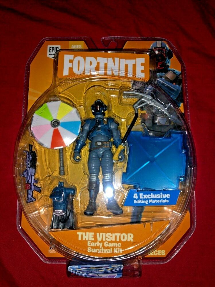Jazwares Fortnite The Visitor Early Game 4 Action Figure Survival