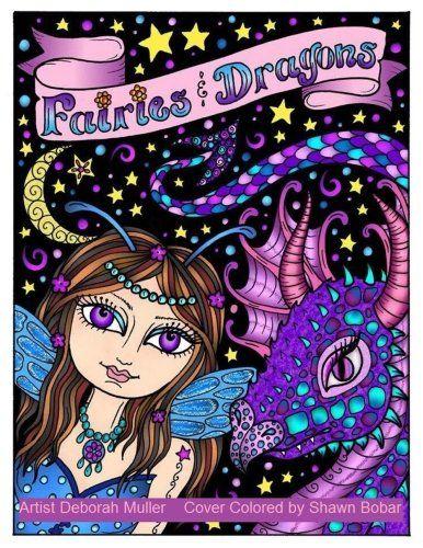 Fairies And Dragons By Deborah Muller Amazon Dp 1542575176 Refcm Sw R Pi X 8bzSybYX9MG1Y