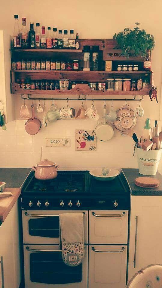 Pallet spice rack gew rzregal aus einer palette inspiration for my home pinterest k che - Wohnungseinrichtung planen ...
