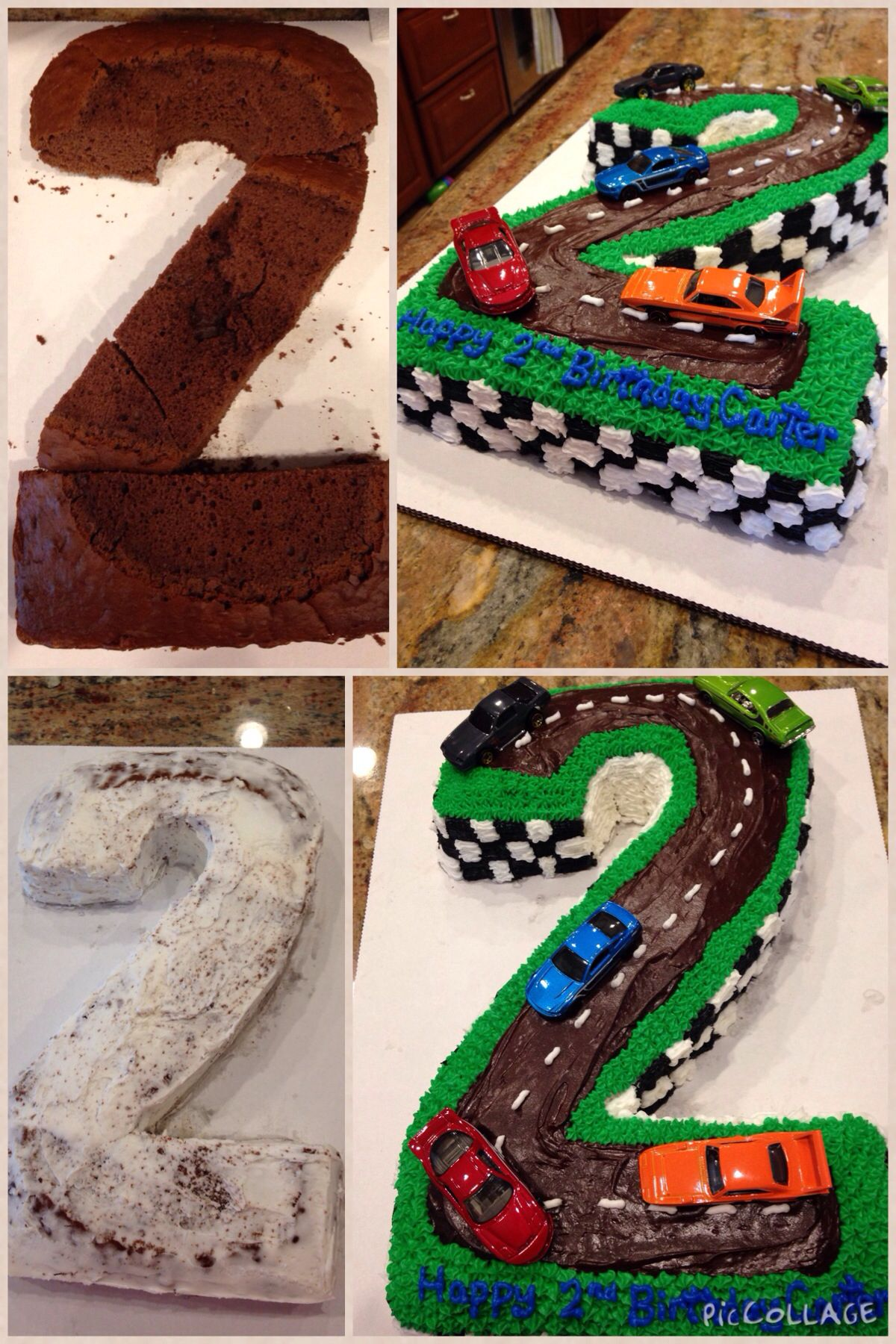 How To Create A Two Year Old Car Themed Birthday Cake First Bake 1