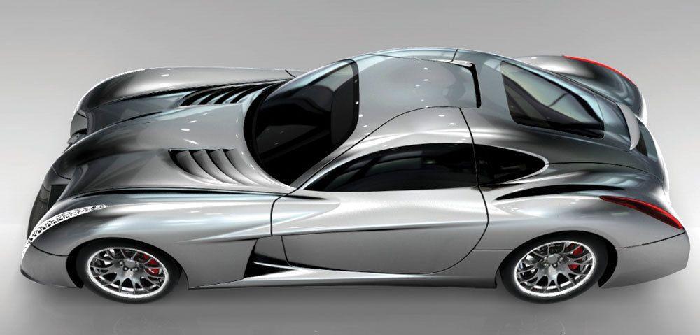 Panoz Abruzzi Sports Car Futuristic Cars Sports Car Car