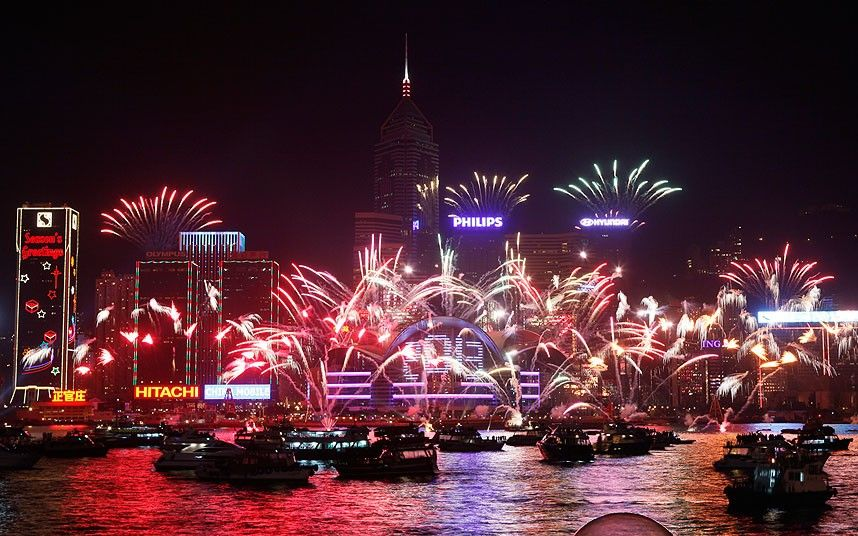 New Year's Eve celebrations around the world in pictures