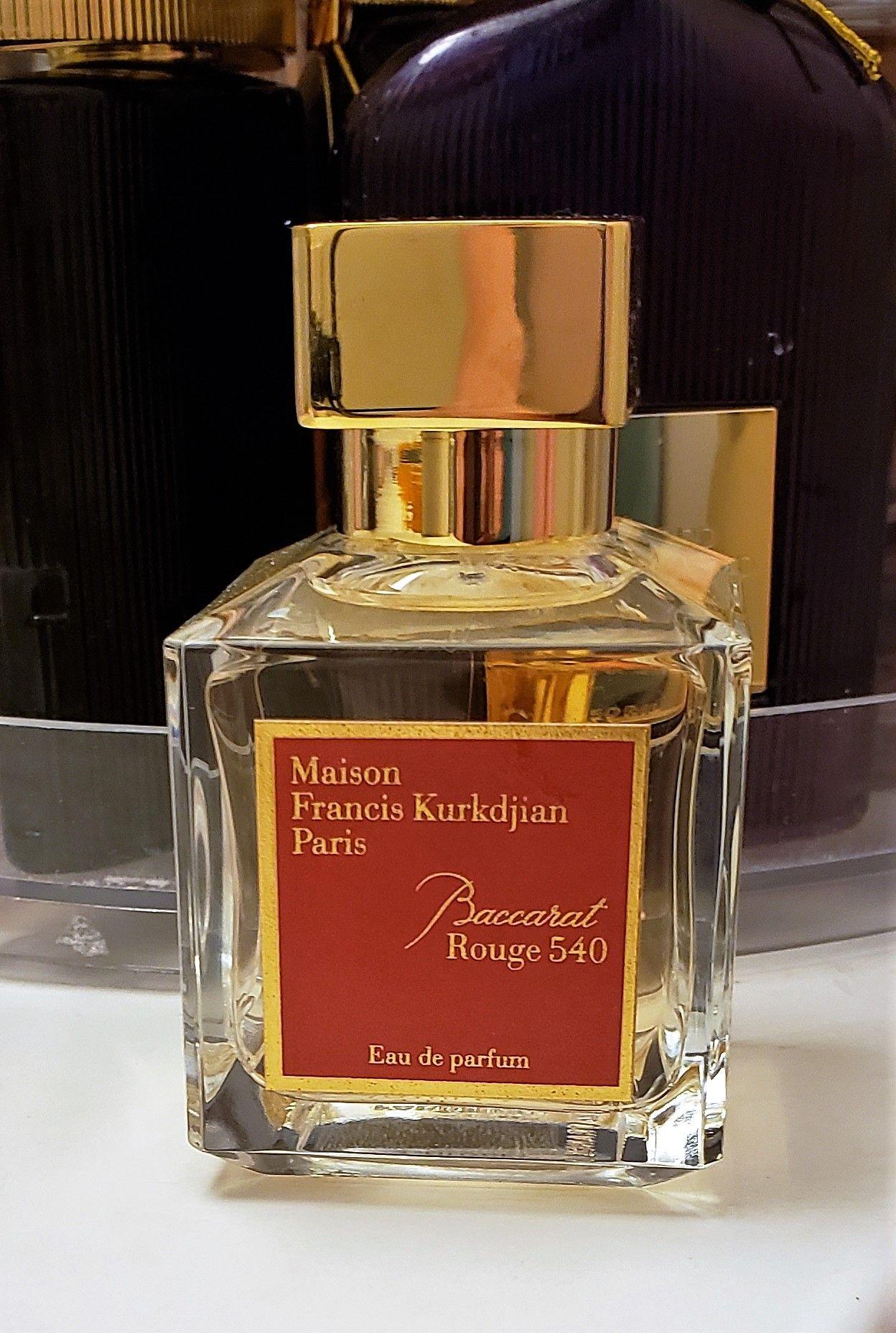 Maison Francis Kurkdjian Baccarat Rouge 540 Eau De Parfum Perfume Eau De Parfum Perfume Collection