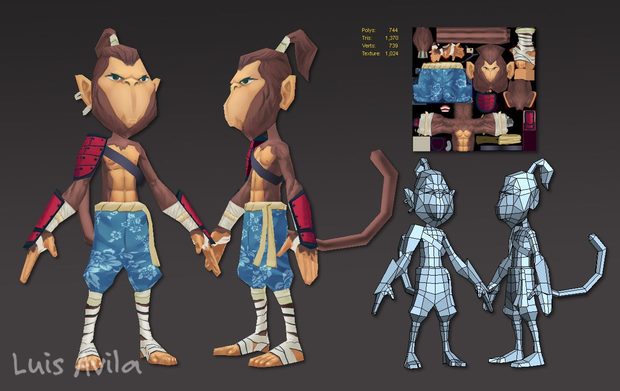 Game Character Design Tutorial : Picked up by cgchips d dcg tutorials and dprinter news