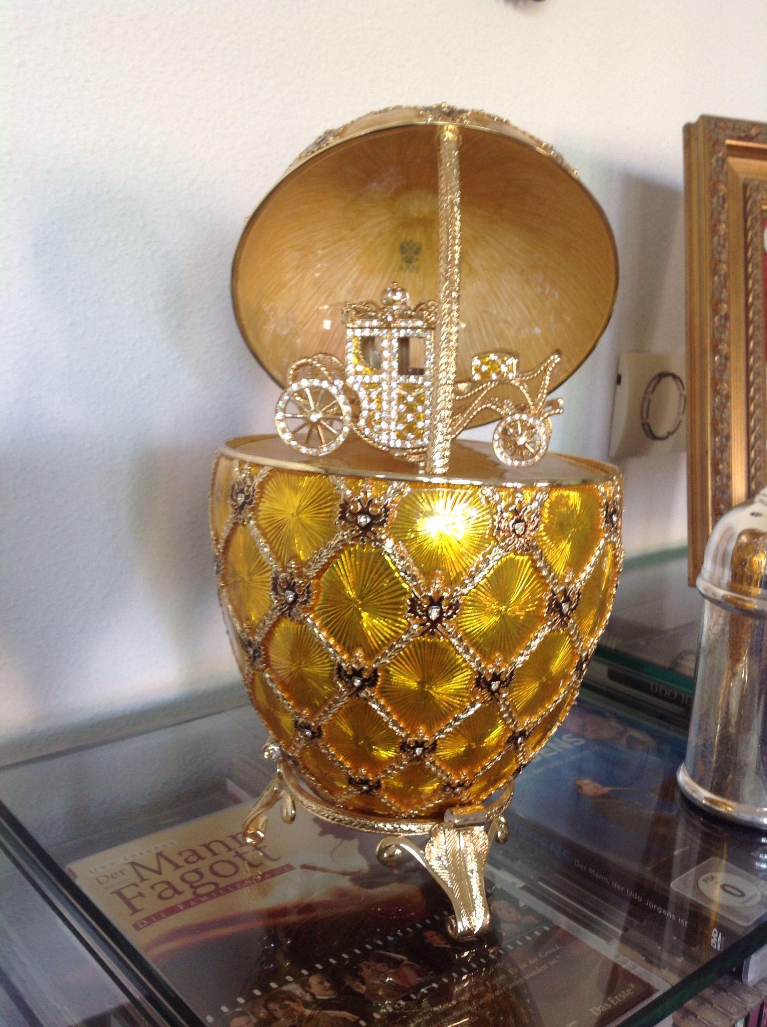 Faberge replica Coronation Egg
