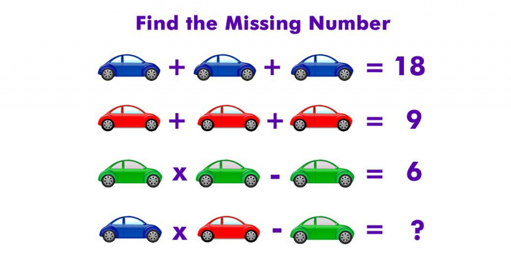Fun With Maths Can You Find The Missing Number In The Picture Missing Numbers Can You Find Math