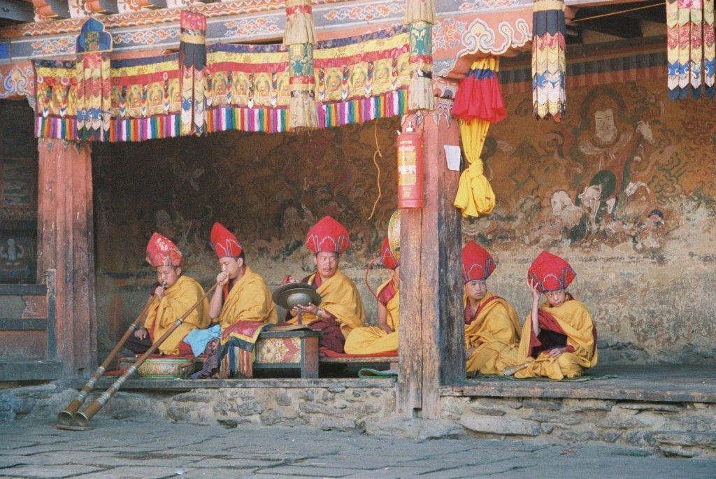 Bhutan travel Big Blog Map Bhutan