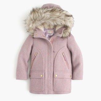6f756bc06 J.Crew Girls' stadium-cloth chateau parka | AUNT LIFE | Clothes ...