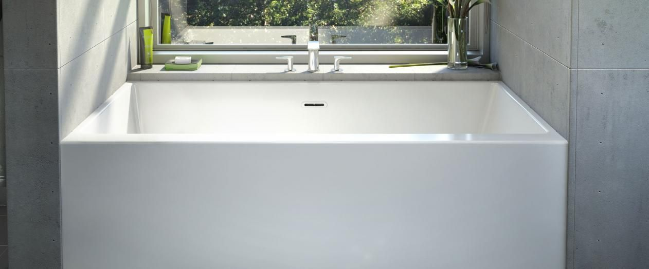 Bainultra Citti® 6032 without insert alcove air jet bathtub for your ...