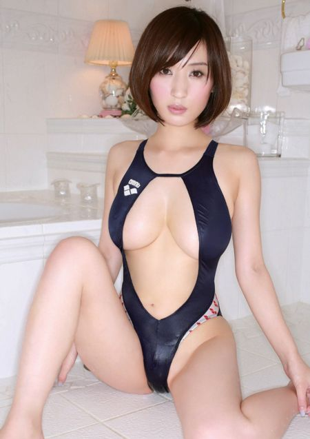 Fetish japanese swimsuit