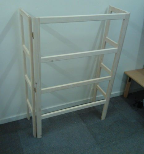 Wooden Handmade Radiator Clothes Airer Dryer Horse Stand 3 Sizes Ebay Wood Clothes Drying Rack Diy Wooden
