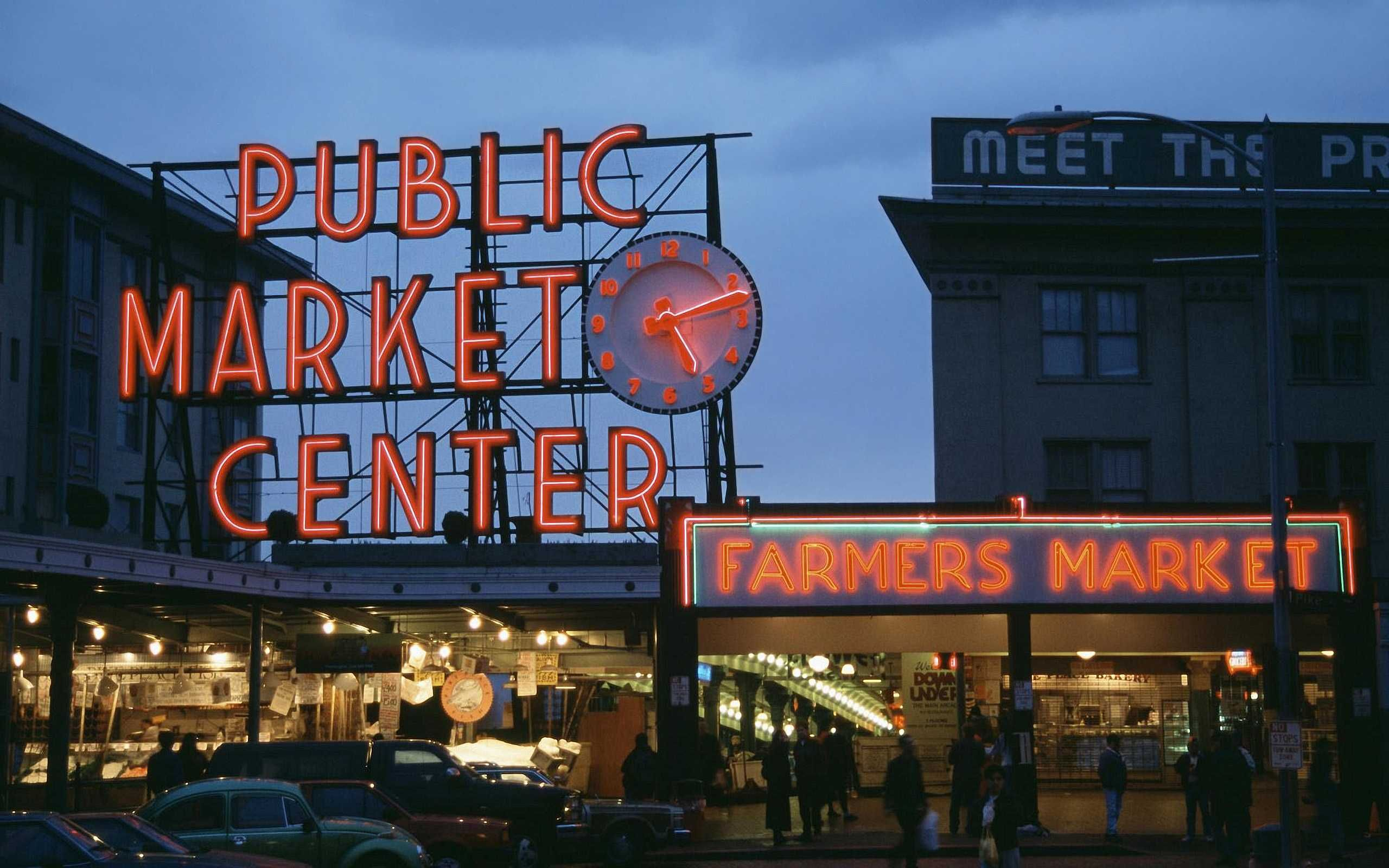 Pike Place Market Is Seattle Washington S For Fresh Locally Produced Food