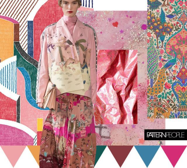 TRENDS // PATTERN PEOPLE - PRINT + COLOR . SS 2017