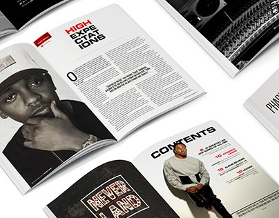 """Check out new work on my @Behance portfolio: """"Contemporary Magazine Design"""" http://on.be.net/1IC3Szi"""