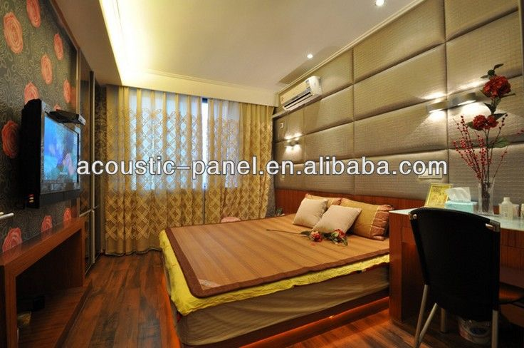 Bedroom/dromitory/hotel Decorative Soundproof Materials,Farbic Acoustic  Wall Panel Photo, Detailed About Bedroom/dromitory/hotel Decorative .