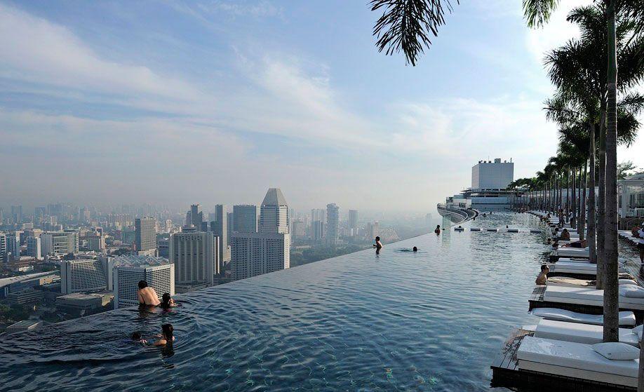 인사이트 - '꿈의 호텔' 20곳: 싱가포르 마리나베이샌즈