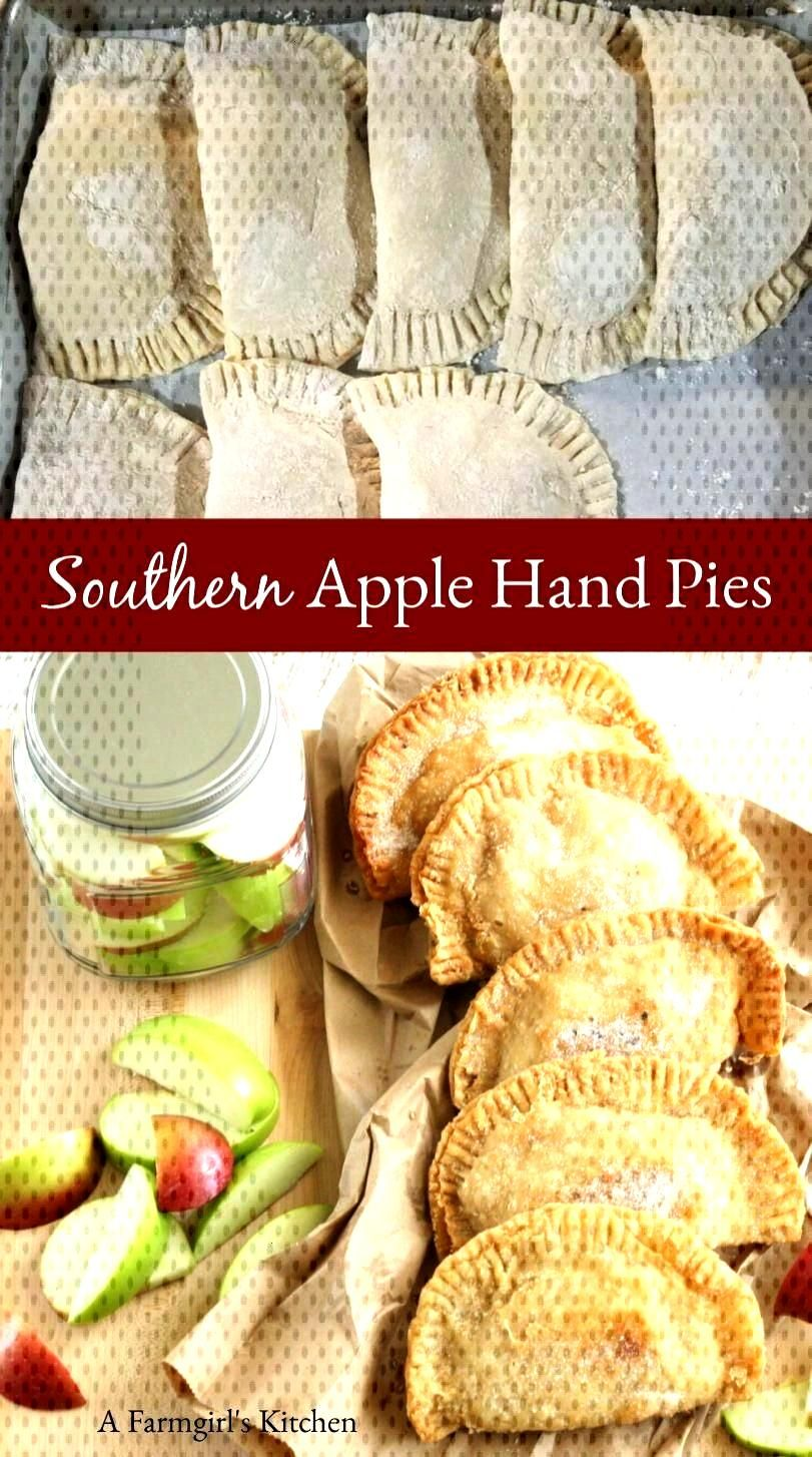 Southern Apple Hand Pies - Southern Style Recipes -
