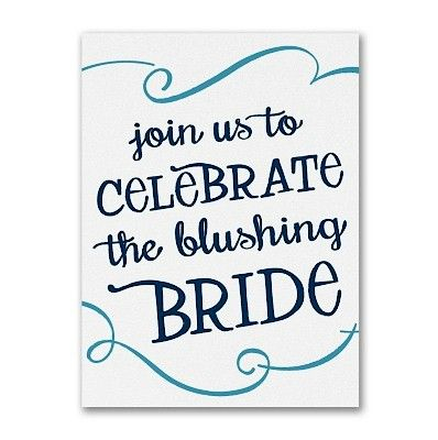 Bridal Blush Bridal Shower Invitation