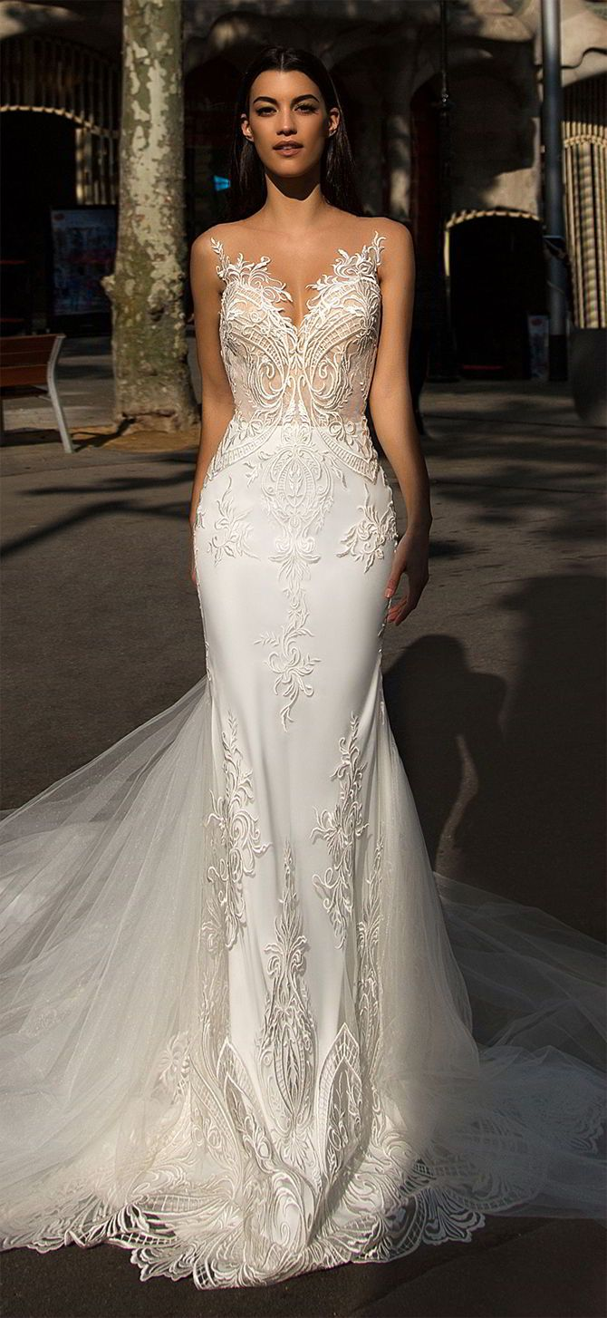 Milla Nova 2017 Wedding Dresses White Desire Collection | Mermaid ...