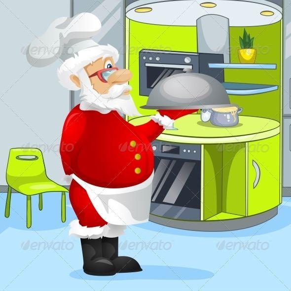 Santa Claus Santa Claus Holiday Illustrations Santa
