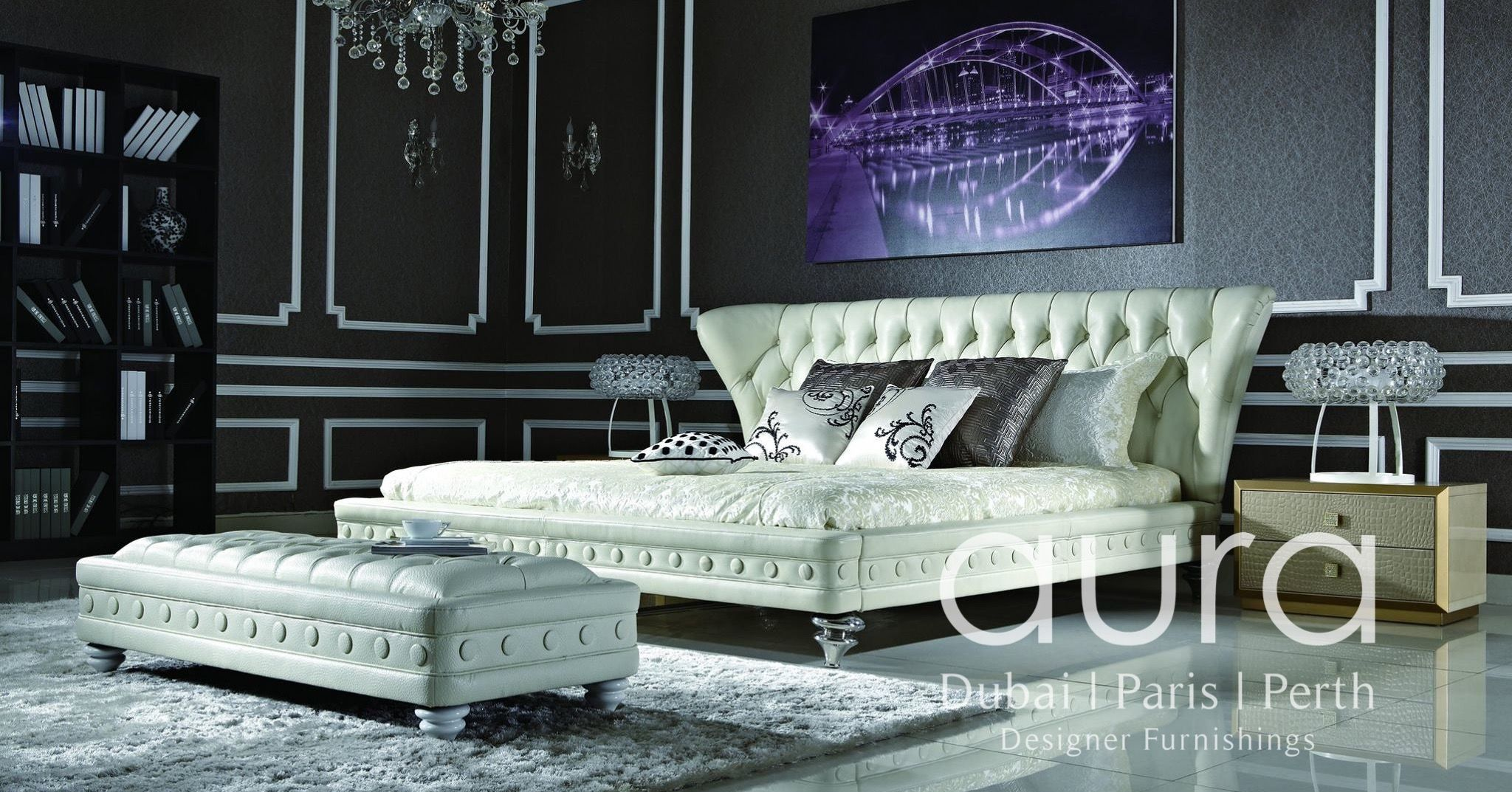 luxury bedroom furniture purple elements. $3499- $3999 The Mistress Luxury Bed, Is An Upgrade From The Standard  French Provincial Bedroom Furniture Purple Elements E