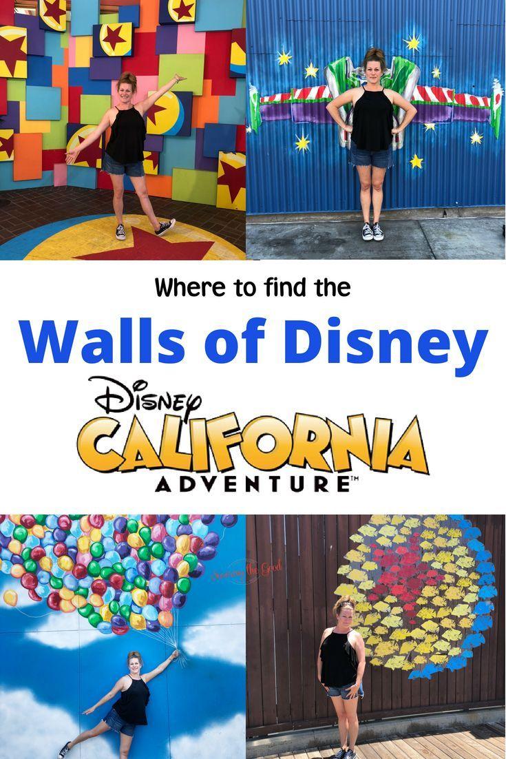 Photo of Wo finden Sie die Disney Walls in Disney California Adventure