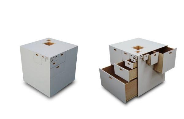 Die Antike Holzkommode Wurde Neu Interpretiert Und Ihre Schubladen Neu  Angeordnet. Klingt Lustig, Aber Diese Designer Kommoden Aus Holz  Präsentieren Uns