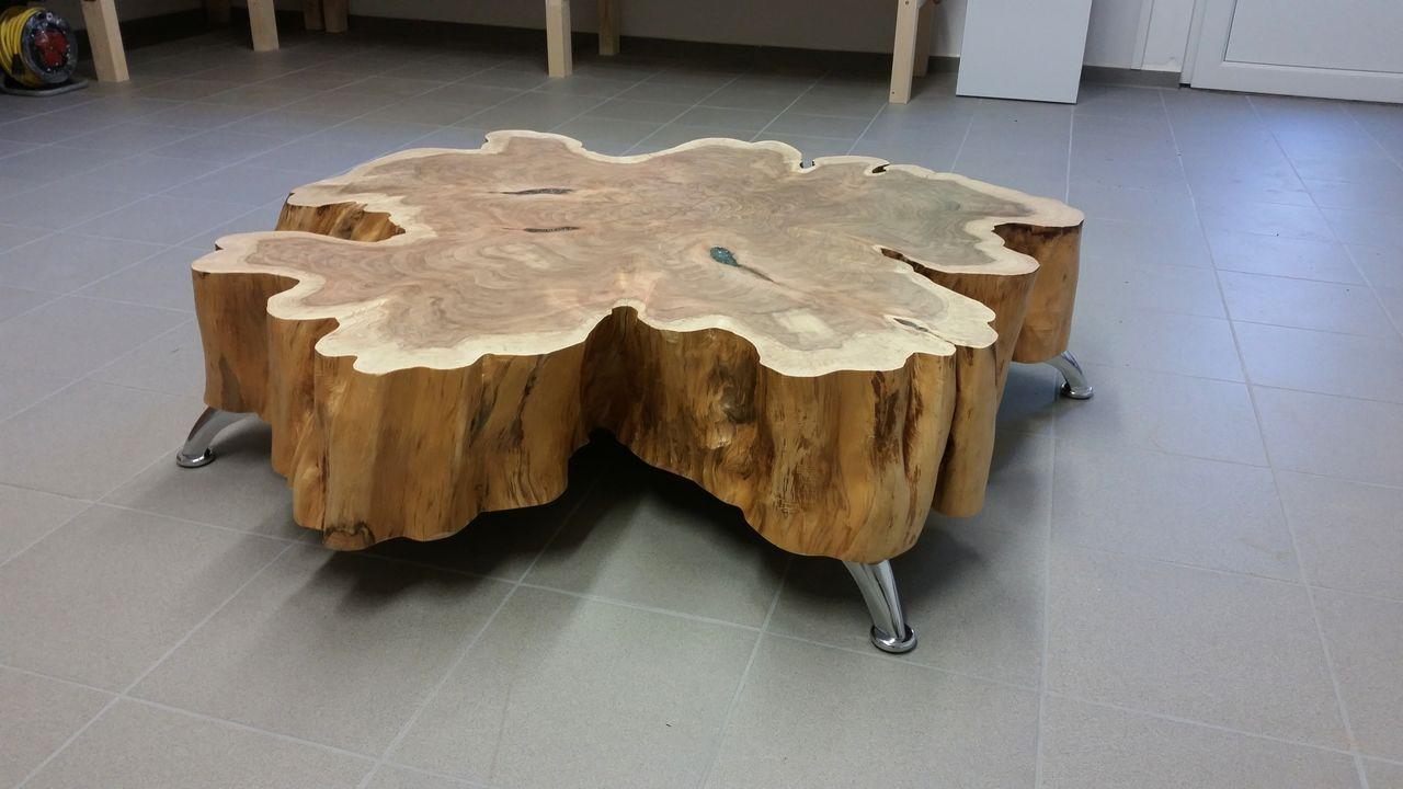 genial holzscheibe tisch bauideen table home decor und decor. Black Bedroom Furniture Sets. Home Design Ideas