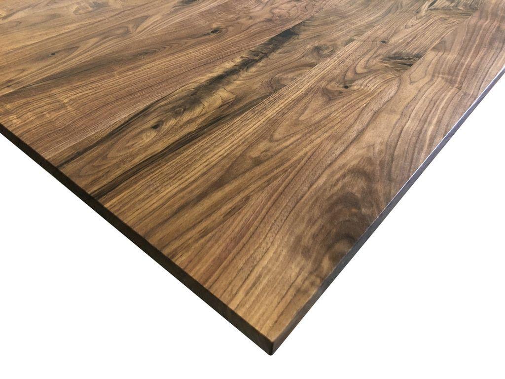 Knotty Walnut Desk Top Customize Order Online Walnut Desks