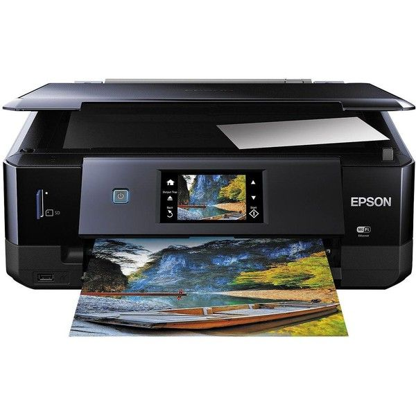 Epson Expression Photo Xp 760 Printer 170 Liked On Polyvore Featuring Home Home Decor Office Accessories Cat Calend Best Printers Epson Printer Printer