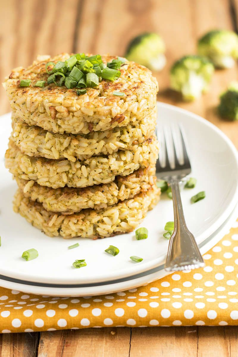 Broccoli cheese rice cakes gluten free main dishes rice