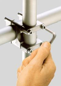 Philips Building System Could This Be Achieved With Alternating C Clamps If The Bolt Length Is Long Plumbing Installation Metal Fabrication Deck Building Plans