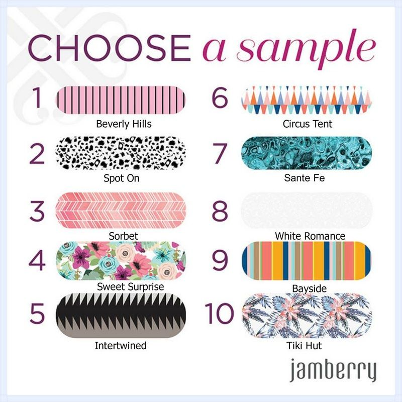 FREE Jamberry Nail Wrap Samples. Spring/Summer 2016 Jamberry Nail ...