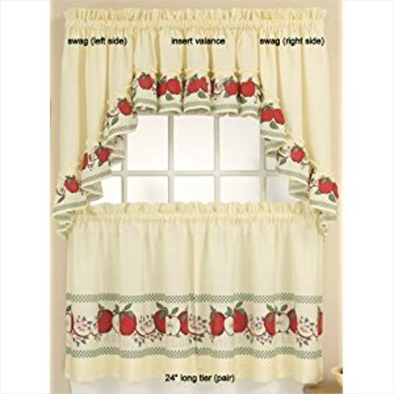 41 Perfect Farmhouse Country Kitchen Curtain Valances Ideas Country Kitchen Curtains Kitchen Curtains Country