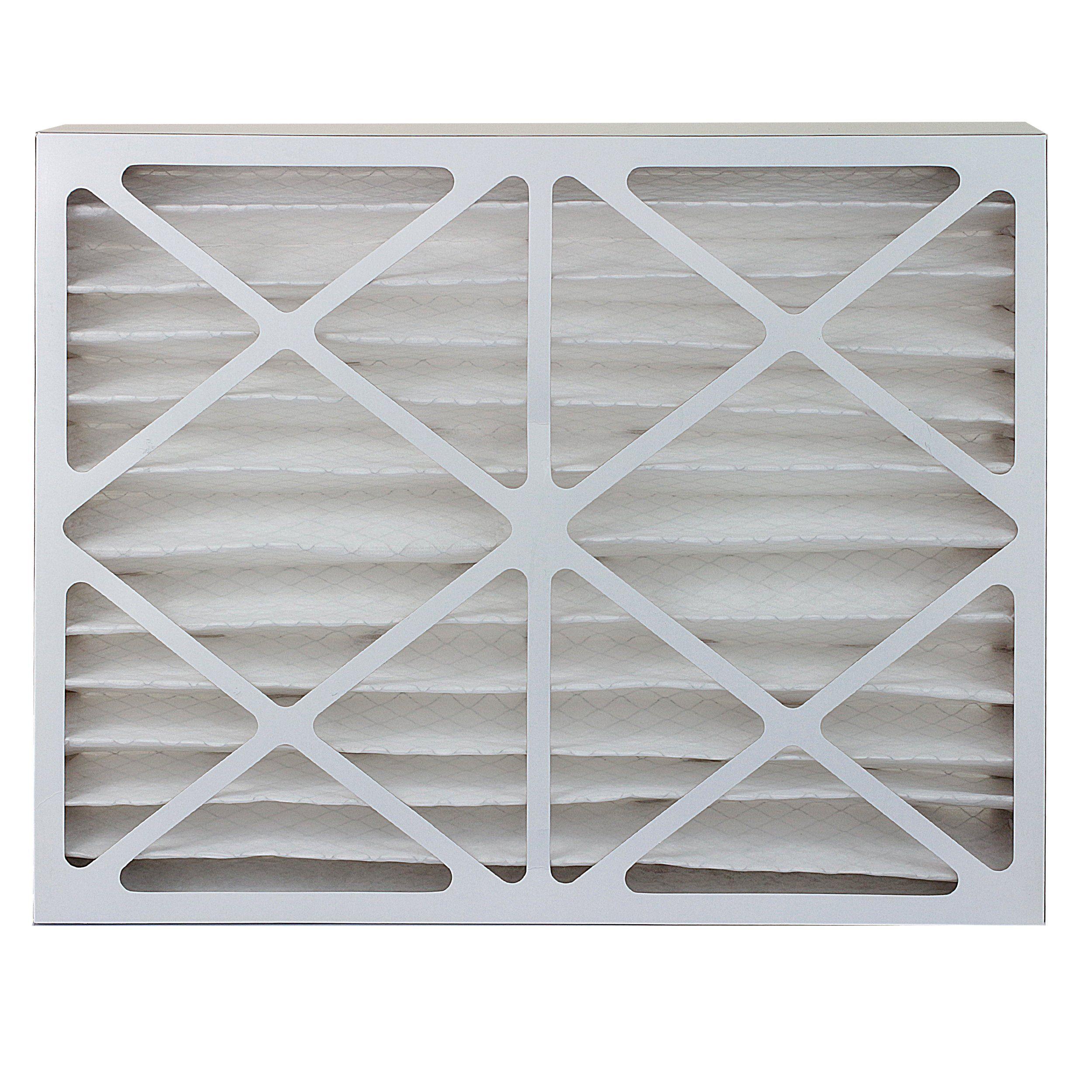 FilterBuy 24x36x4 MERV 8 Pleated AC Furnace Air Filter