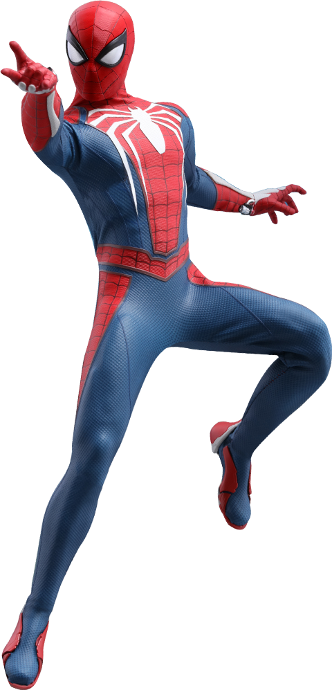 Hot Toys Spider Man Advanced Suit Sixth Scale Figure Spiderman New Spiderman Suit Hot Toys