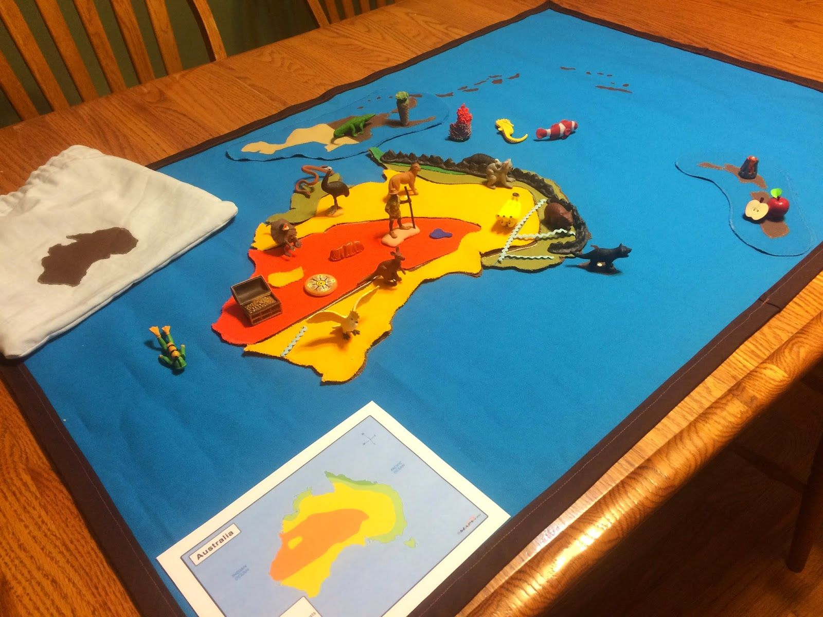 The Helpful Garden Oceania Mat for the
