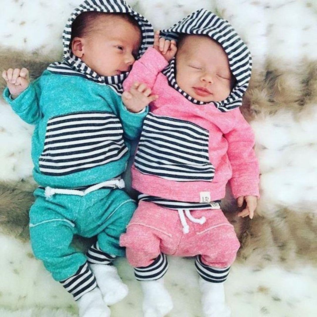 55+ Best Twin Newborn Outfit Collections | Twin newborn, Newborn ...