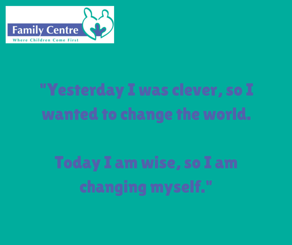 Inspiring quote about change!