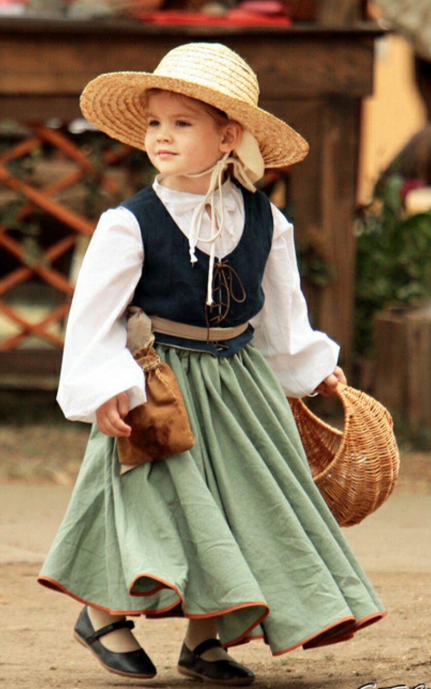 Girls Renaissance Faire dress | Renaissance fair costume for little ...