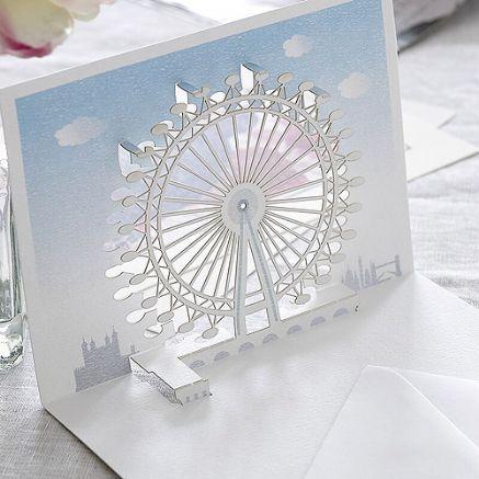 London Eye Pop Up Pop Up Card Templates Pop Up Cards Pop Up London