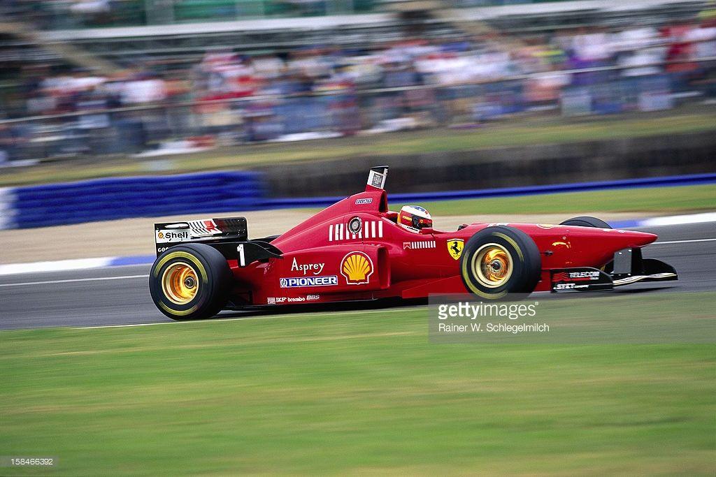 Michael Schumacher Ferrari F310 Silverstone United Kingdom 1996